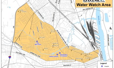 Added water lines downtown, in Prichard may result in discoloration