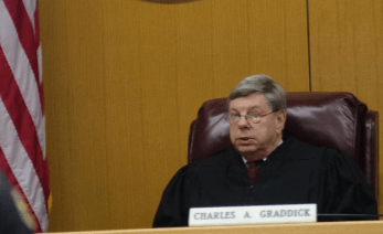 Graddick out as municipal judge