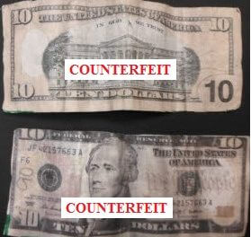 Counterfeit bills on the rise in Fairhope