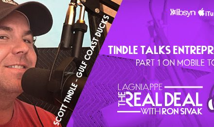 REAL DEAL PODCAST Episode 15: Scott Tindle talks entrepre-tourism
