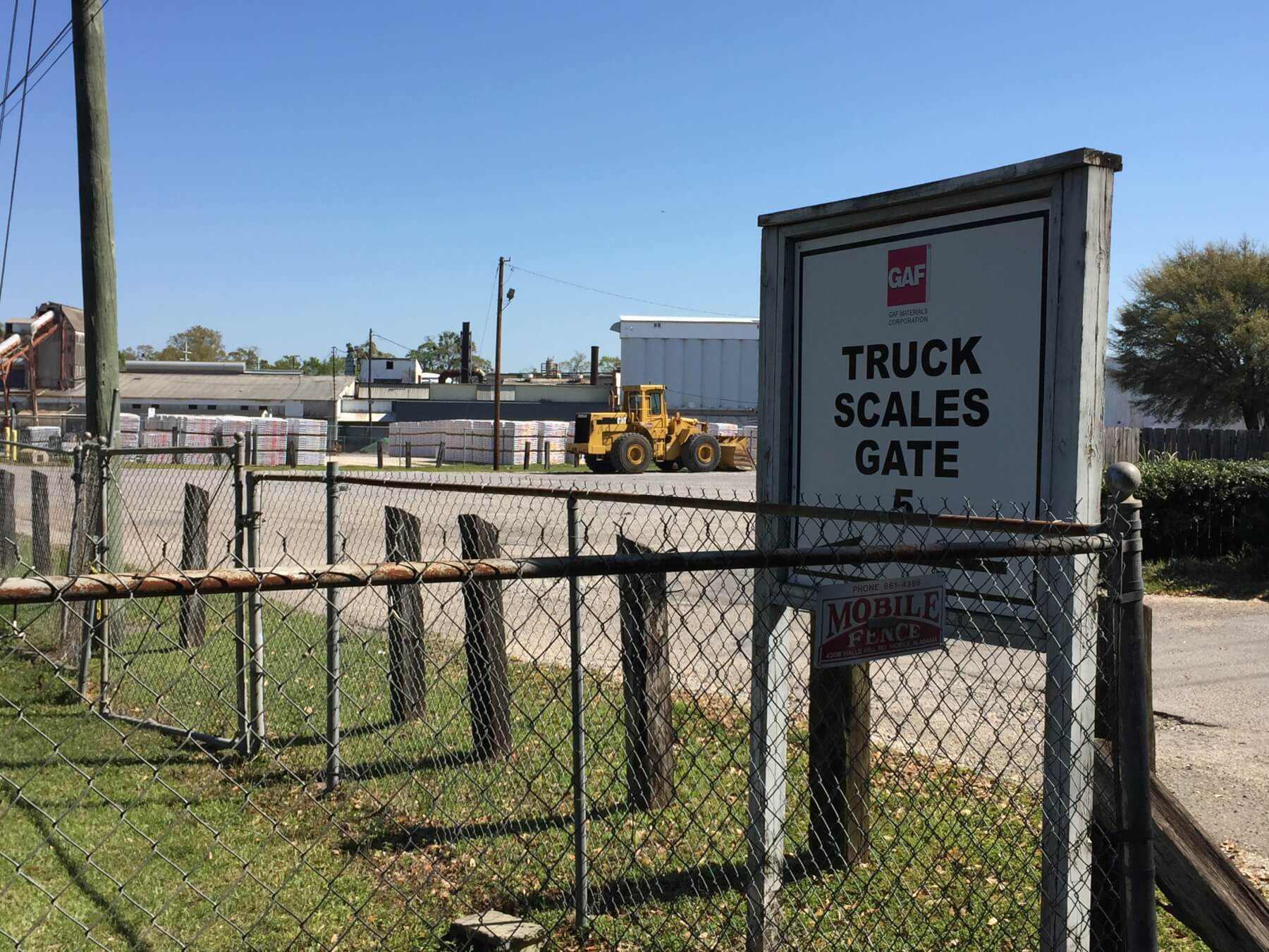 Gaf To Shut Down Midtown Mobile Plant Source Of Odor
