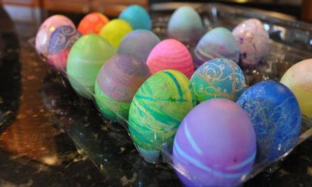 Egg-xactly what you need to do with Easter eggs