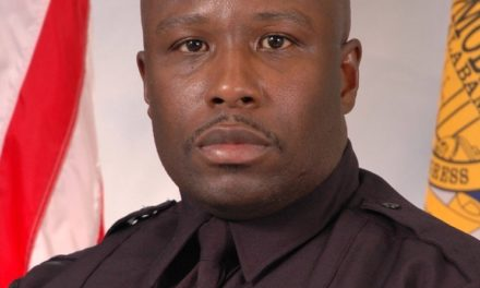 Glover named MPD 'officer of the month'