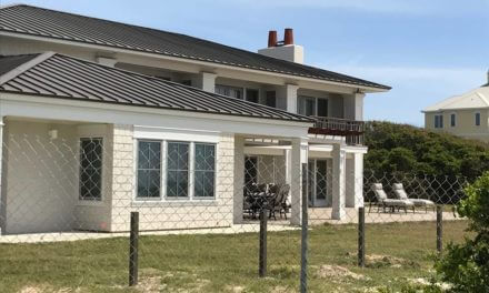 State records indicate governor's beach residence largely unused