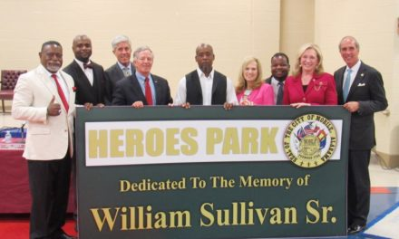 Park renamed in honor of man killed defending grandchildren, home