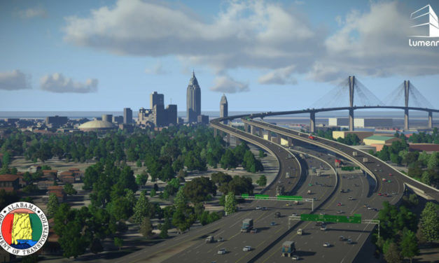 ALDOT conducting pile driving for bridge project