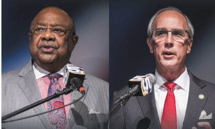 Stimpson, Jones debate  ahead of mayoral election