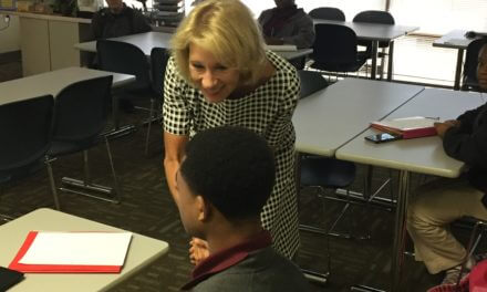 U.S. education secretary visits Mobile