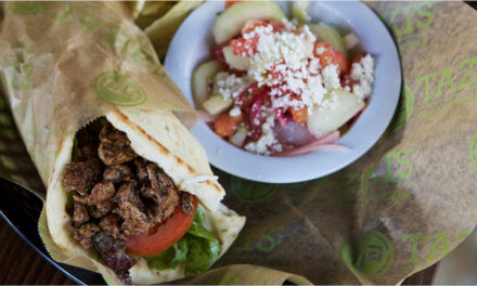 Feast on Mediterranean specialties at Taziki's