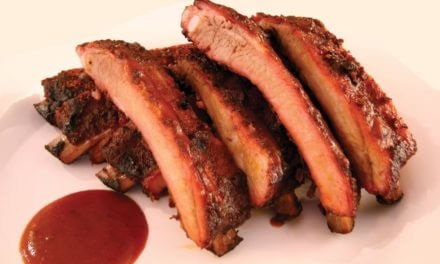 'B' stands for 'Bayou' and 'brisket'