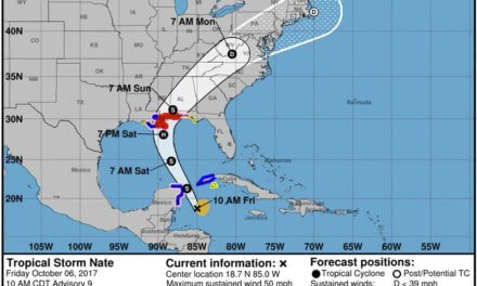 Tropical Storm Nate expected to impact Mobile area as minimal hurricane (updating)