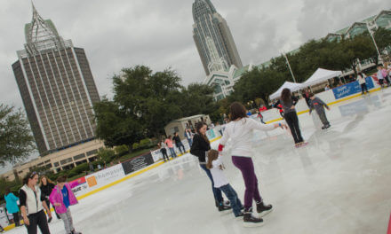 Ice skating moves from park to fort