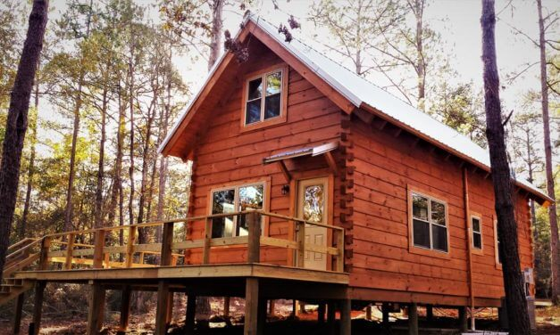 Blakeley State Park adds log cabins