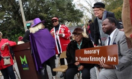District 2 street honorarily renamed for the late Dr. Yvonne Kennedy
