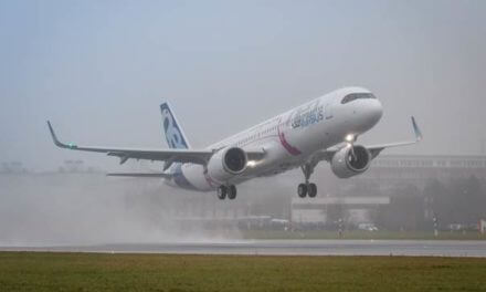 New Airbus aircraft completes maiden flight; to be produced in Mobile
