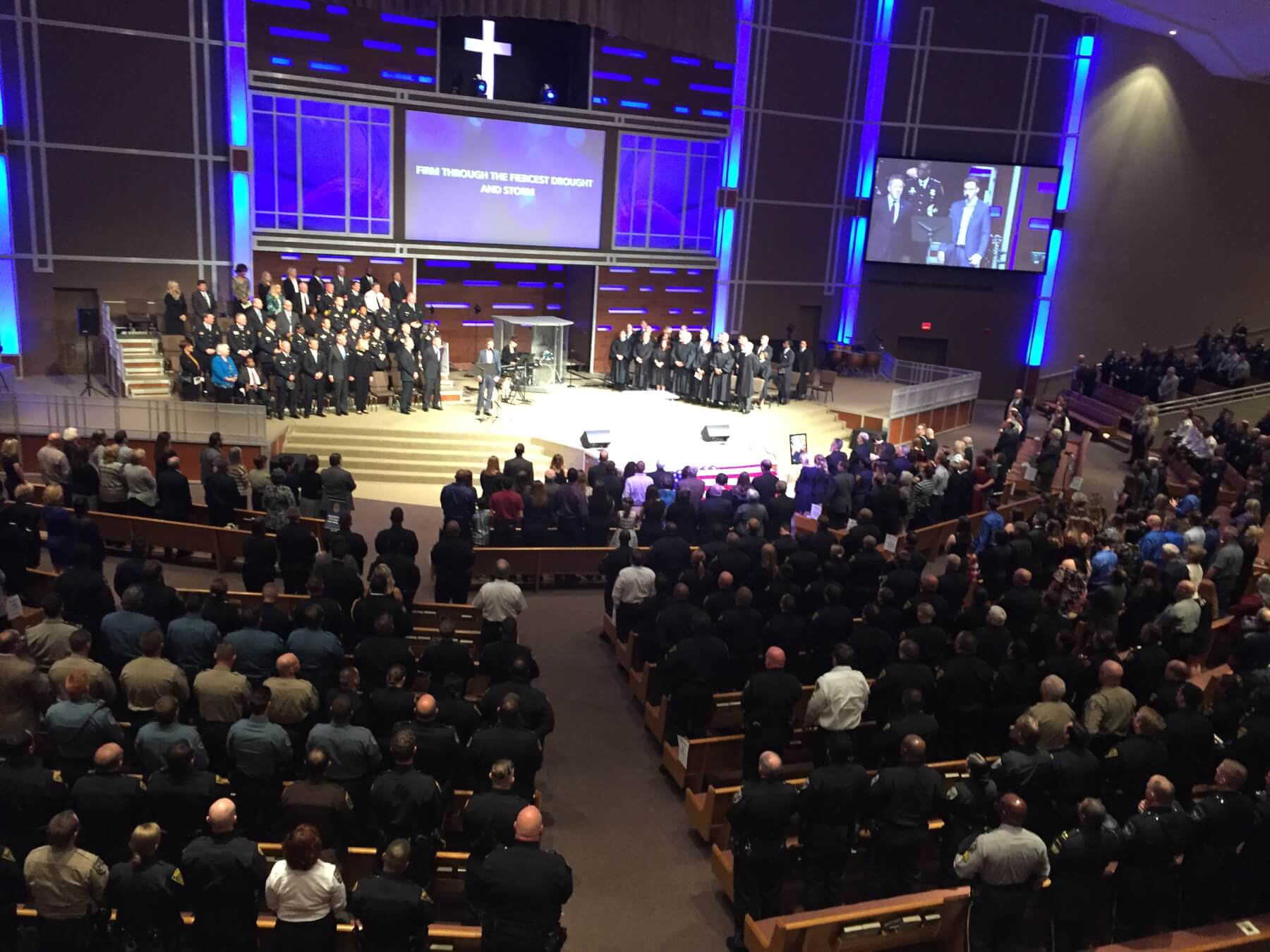Mobile police officer Justin Billa remembered as \'hero\' at funeral ...