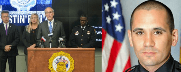 Mobile Mayor Sandy Stimpson: Officer's death affects entire city
