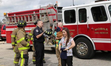 Mobile Fire-Rescue Department helps make a dream a reality