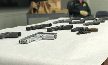 Law enforcement officials tout new stolen gun law