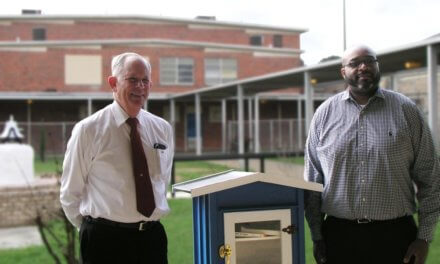 Mobile County Training School installs free miniature library