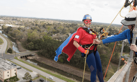Over the Edge combines adventure with advocacy