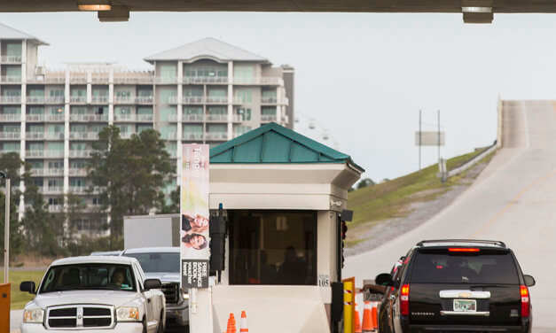 Toll bridge on pace for busiest year ever
