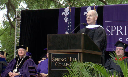Priest invited to SHC commencement brushes off criticism of book