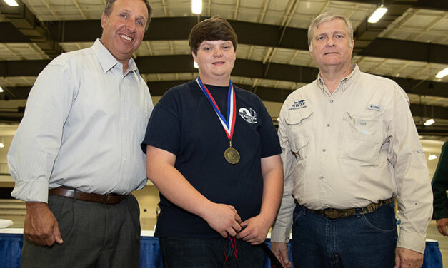 Stork overall male scorer at state youth archery contest