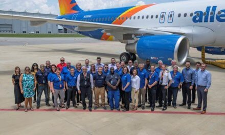 Allegiant receives first Mobile-made A320