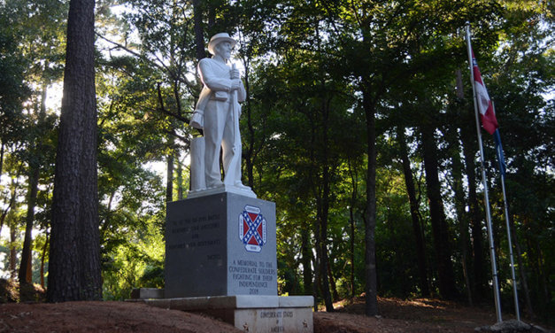 Sons of Confederate Veterans unveil new monument in Spanish Fort