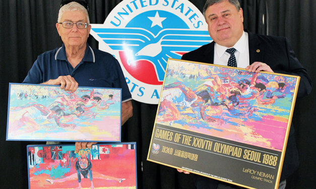USSA celebrates Olympic Day  with museum collection