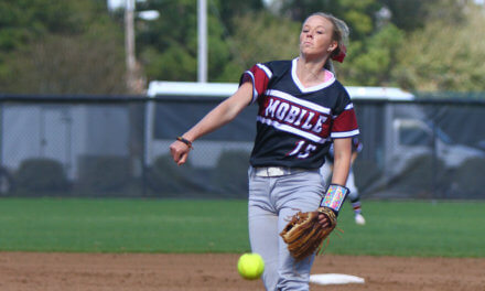 UM softball pitcher Sanders earns All-American honors
