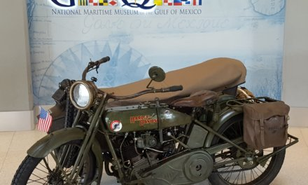 WWI motorcycle kicks off U.S. tour in Mobile