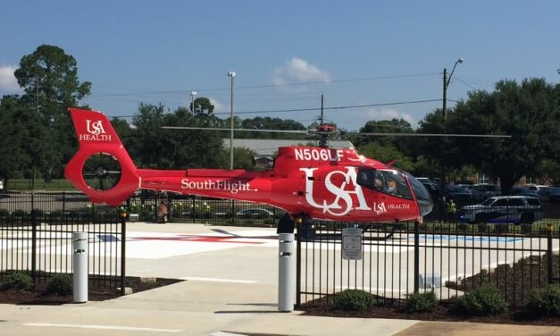 SouthFlight lifts off again at USA hospital