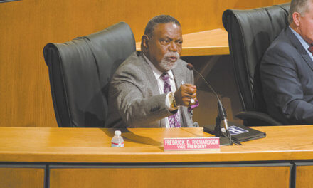 Richardson threatens new lawsuit over council presidency