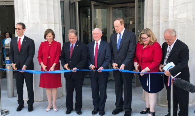 Sessions, others dedicate new federal courthouse