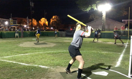 Locals 'get wiff it' to play classic ball game