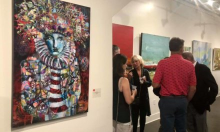 Mobile gallery is new stage for local family