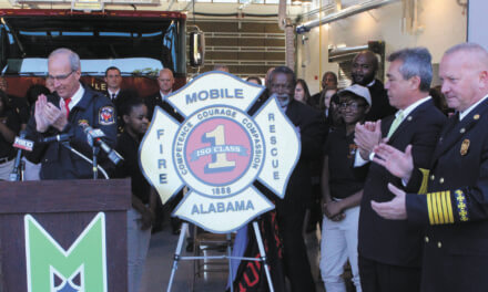 Mobile Fire-rescue department receives top insurance rating