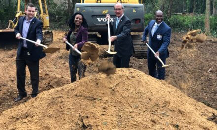City breaks ground on two affordable homes
