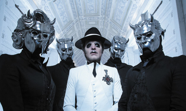 Cardinal Copia celebrates Ghost's black mass