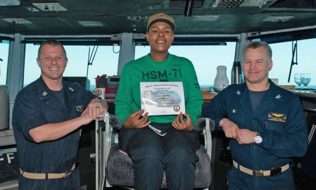 Mobile sailor named Navy's 'Sailor of the Day'