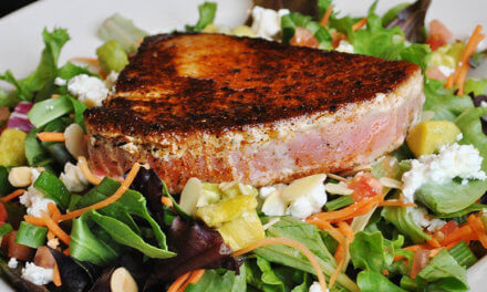 Tuna is missing from your holiday menu