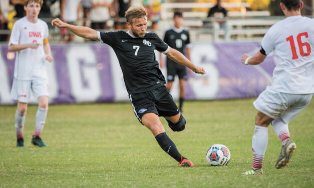 Spring Hill's Lipinski named  All-American in men's soccer