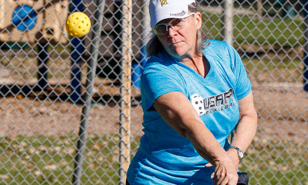 Pickleball a smash hit among local participants