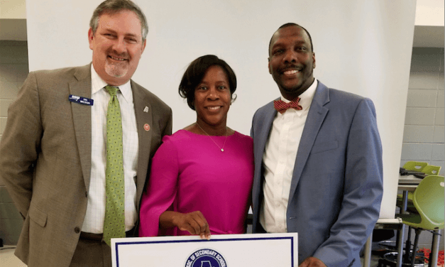Dennis named 'middle school principal of the year'