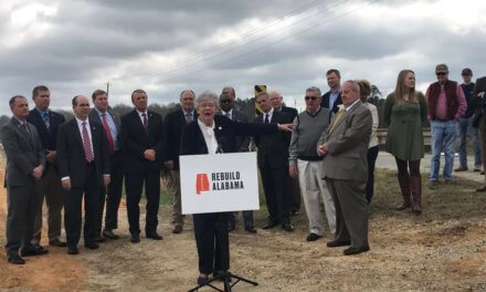 Gov. Kay Ivey unveils increased gas tax bill