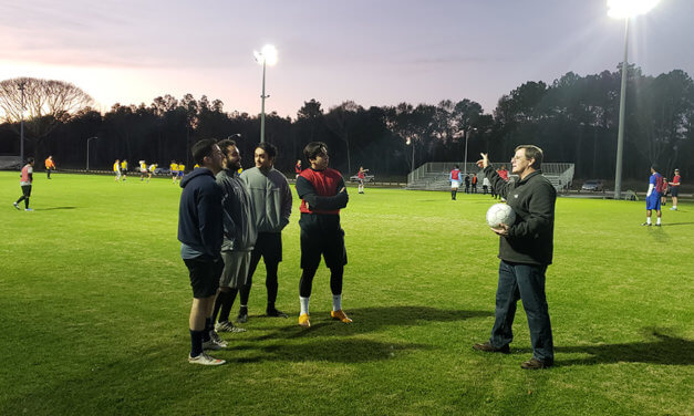 Men's soccer program returns  to USA as club team
