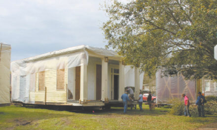 One of city's oldest homes to be restored, moved to DeTonti Square, Common St.