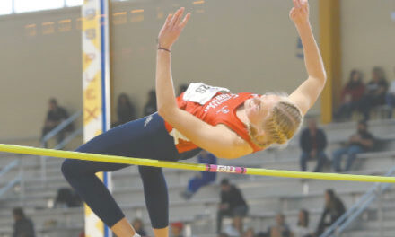 Berge leads list of stellar efforts for USA track squad